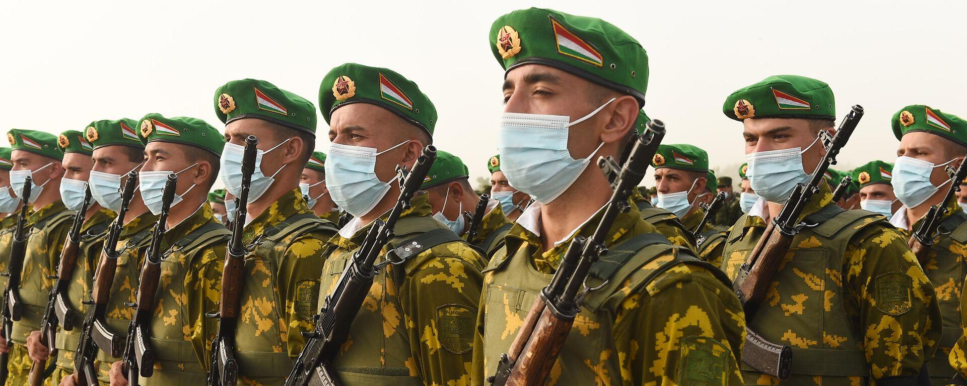 Militärs in Tadschikistan - SNA, 1920, 22.07.2021