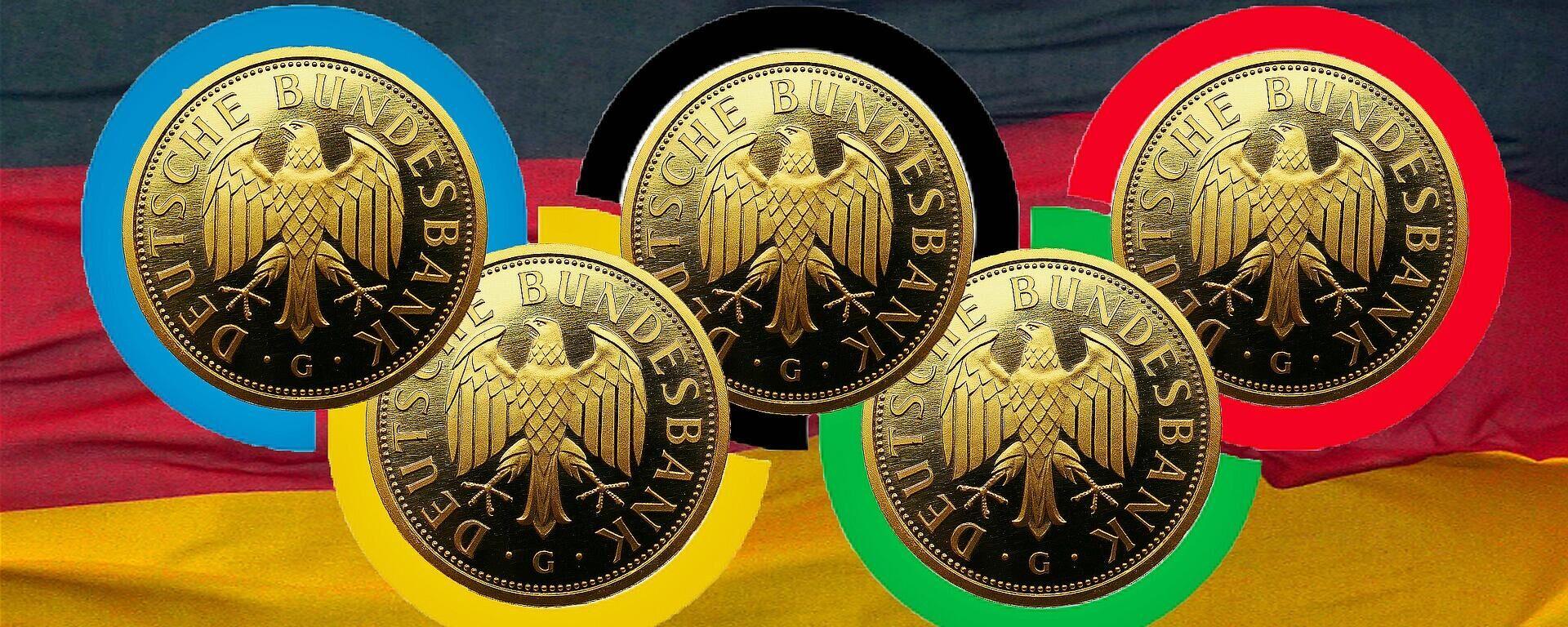 Olympia-Medaillen (Symbolbild) - SNA, 1920, 23.07.2021