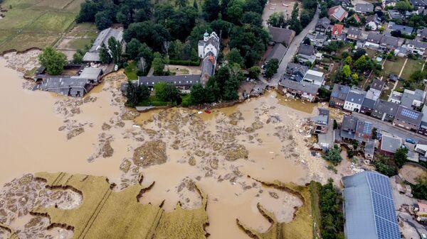 Überschwemmung in Deutschland - SNA