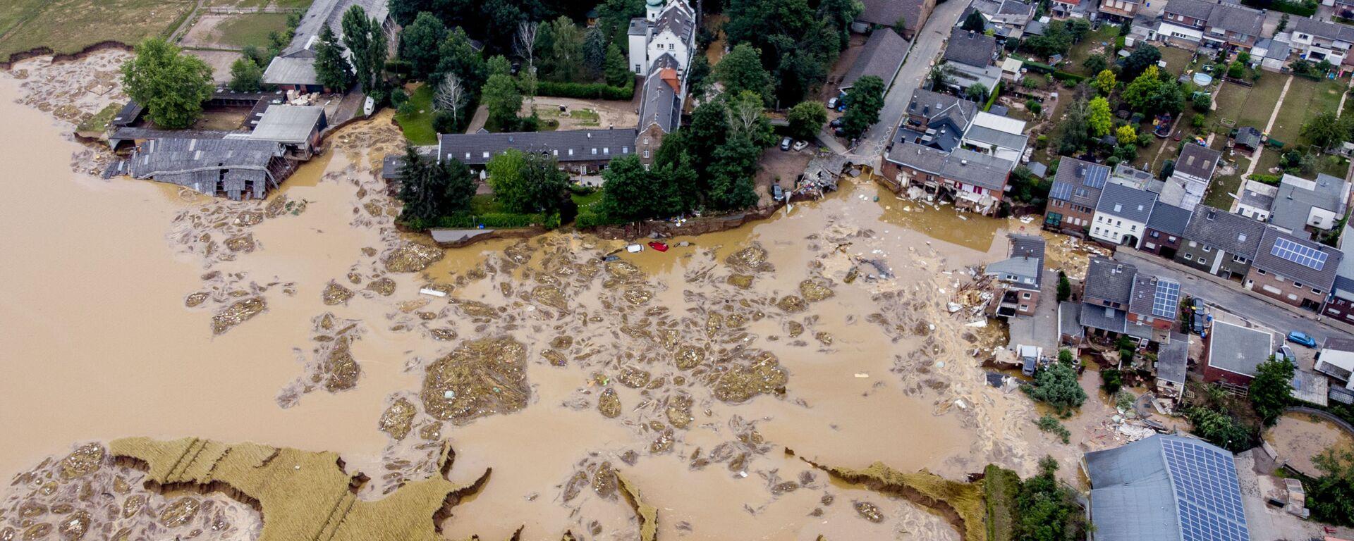 Überschwemmung in Deutschland - SNA, 1920, 23.07.2021