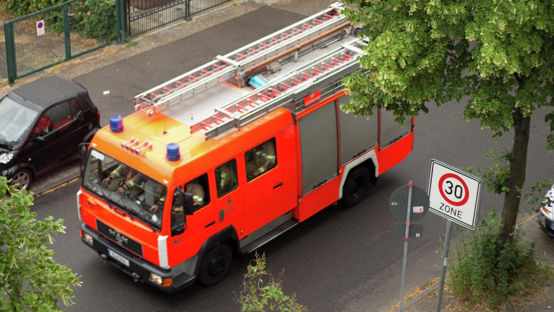 Feuerwehr in Deutschland (Archiv) - SNA, 1920, 02.10.2021