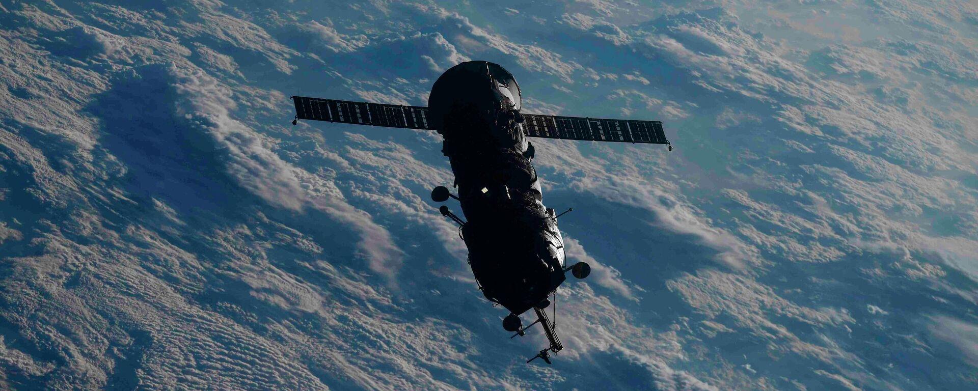 Russisches Andockmodul Pirs nach dem Abkoppeln von der Internationalen Weltraumstation ISS. 26. Juli 2021 - SNA, 1920, 26.07.2021