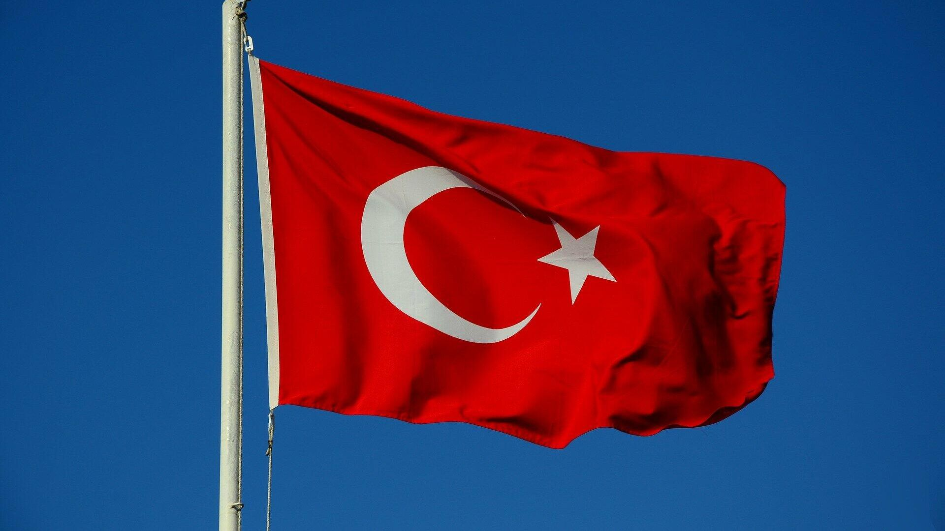 Flagge der Türkei - SNA, 1920, 27.07.2021