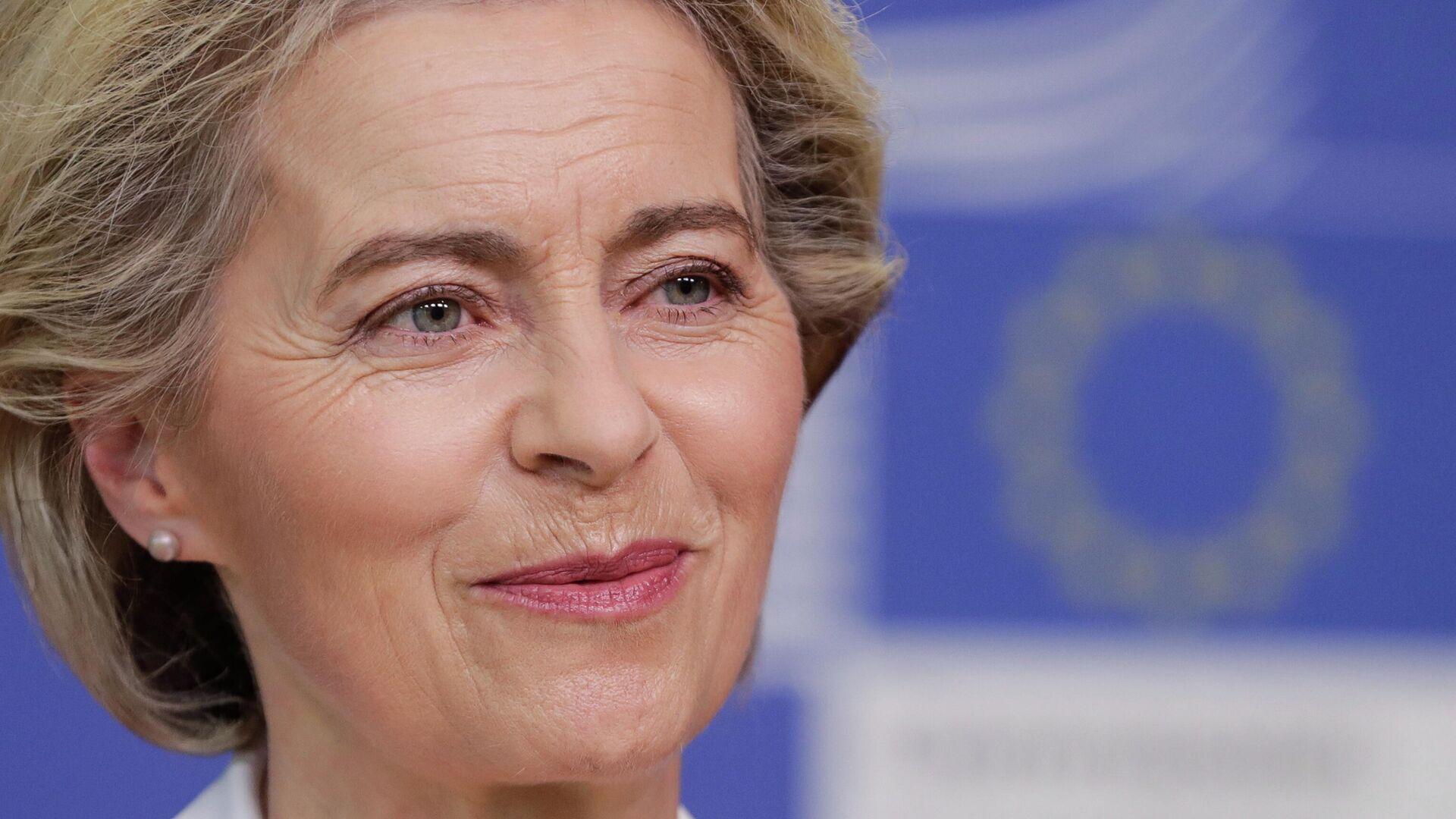 EU-Kommissionschefin Ursula von der Leyen - SNA, 1920, 27.07.2021