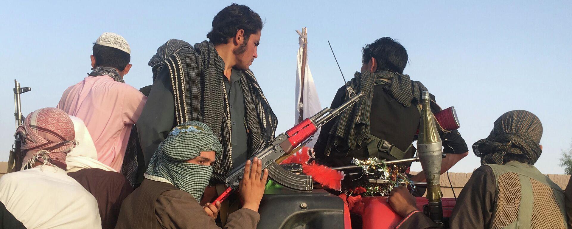 Unterstützer der Taliban an der afghanisch-pakistanischen Grenze - SNA, 1920, 27.07.2021