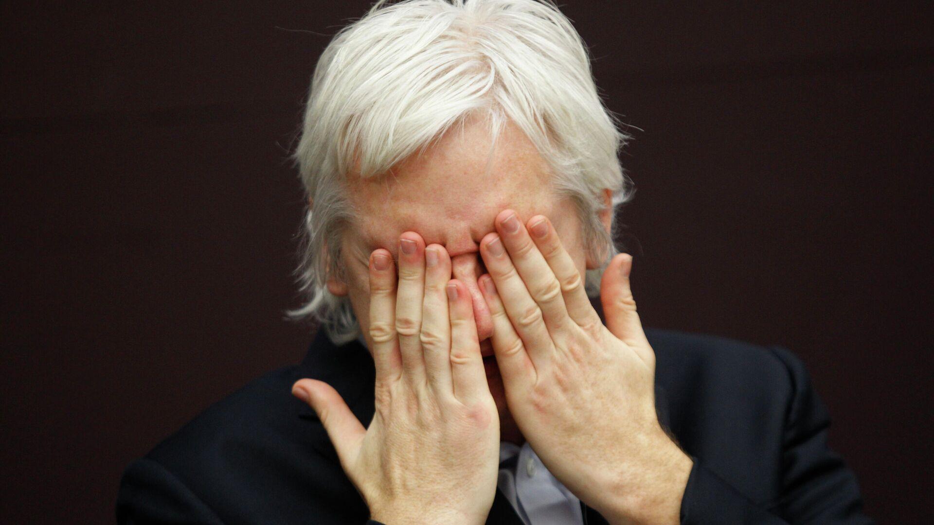 Wikileaks-Gründer Julian Assange (Archivbild) - SNA, 1920, 28.07.2021