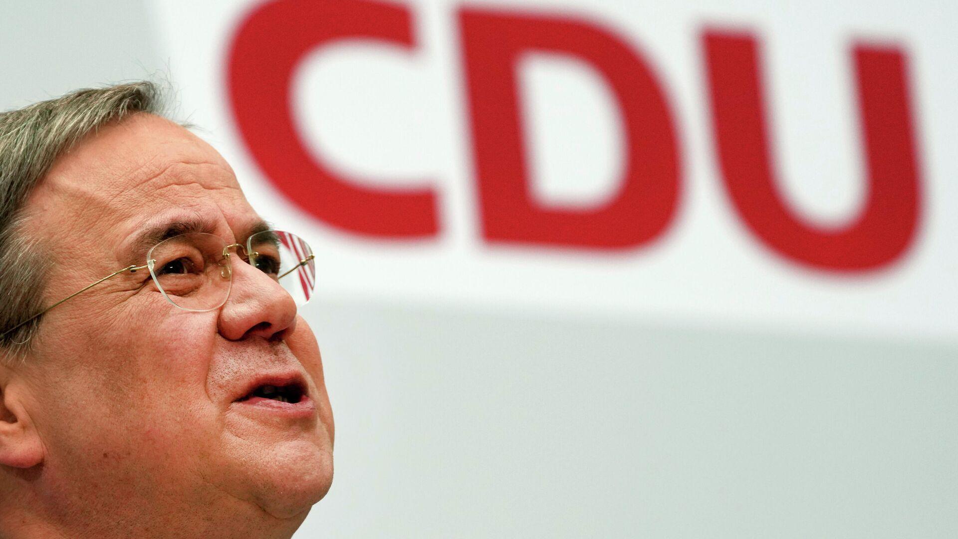 CDU-Chef Armin Laschet (Archivfoto) - SNA, 1920, 21.09.2021