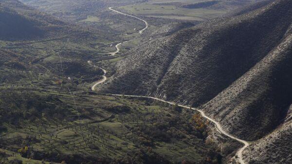 Кельбаджарский район Азербайджана, граничащий с Арменией - SNA