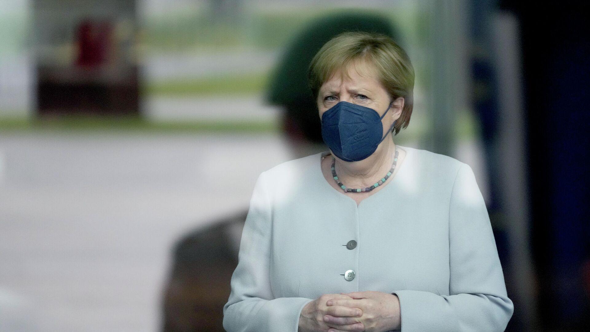 Bundeskanzlerin Angela Merkel - SNA, 1920, 21.08.2021