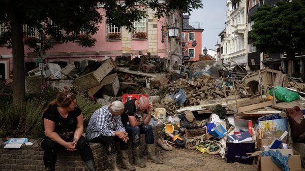 Flutkatastrophe in Deutschland - SNA
