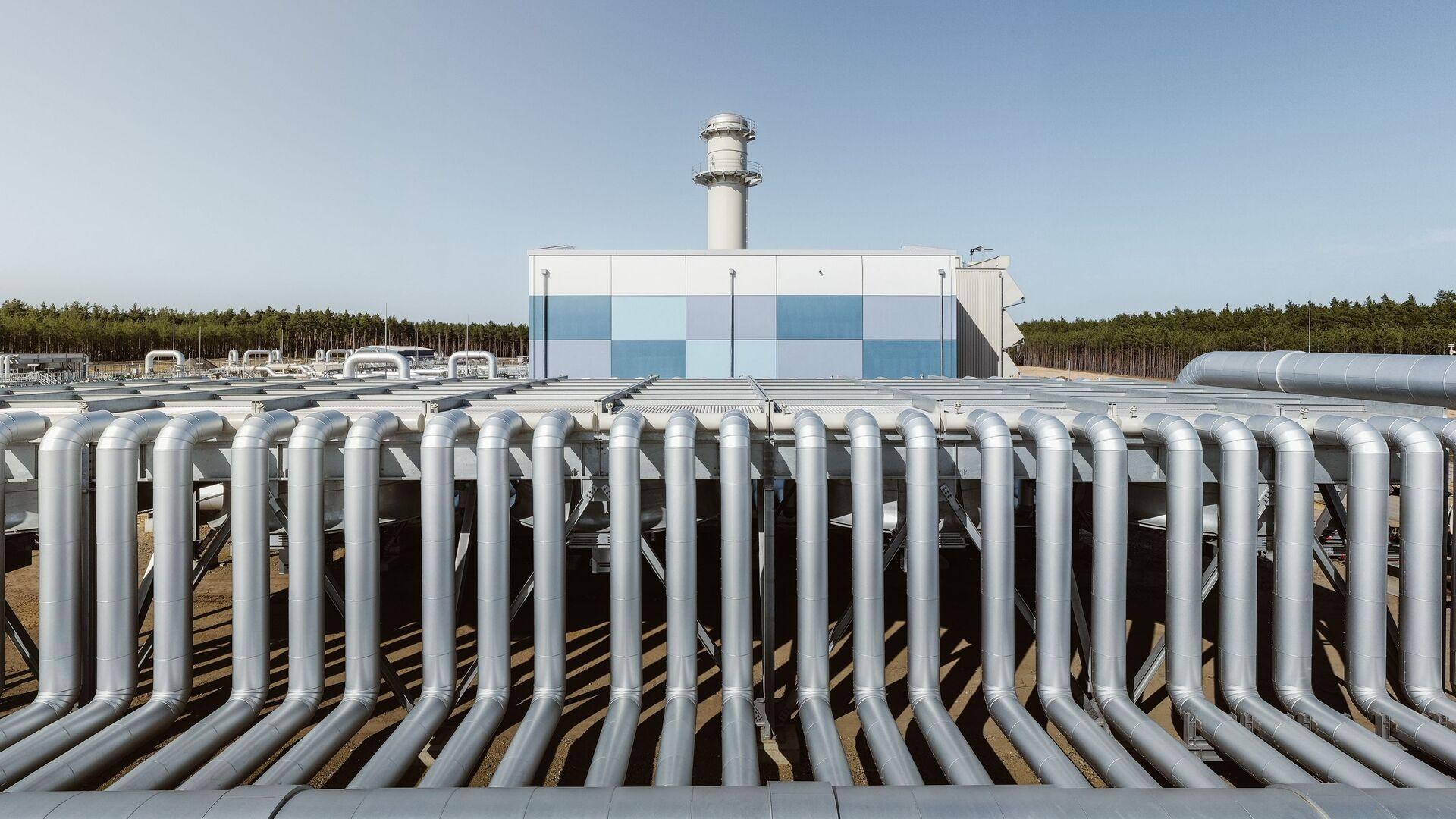 Bauarbeiten für die Gaspipeline Nord Stream 2 in Deutschland - SNA, 1920, 30.07.2021