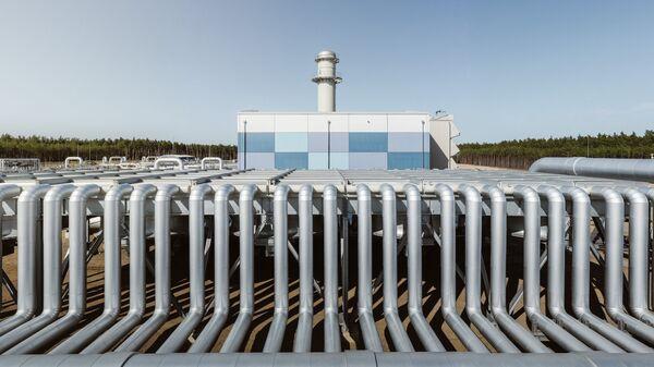 Строительство газопровода Северный поток-2 в Германии - SNA
