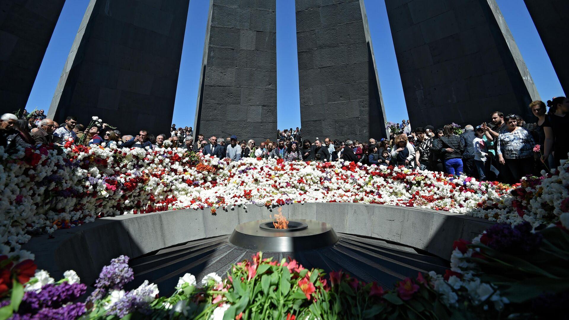 Zizernakaberd – Denkmal für die Opfer des Völkermords an den Armeniern 1915 - 1916 in Jerewan - SNA, 1920, 31.07.2021