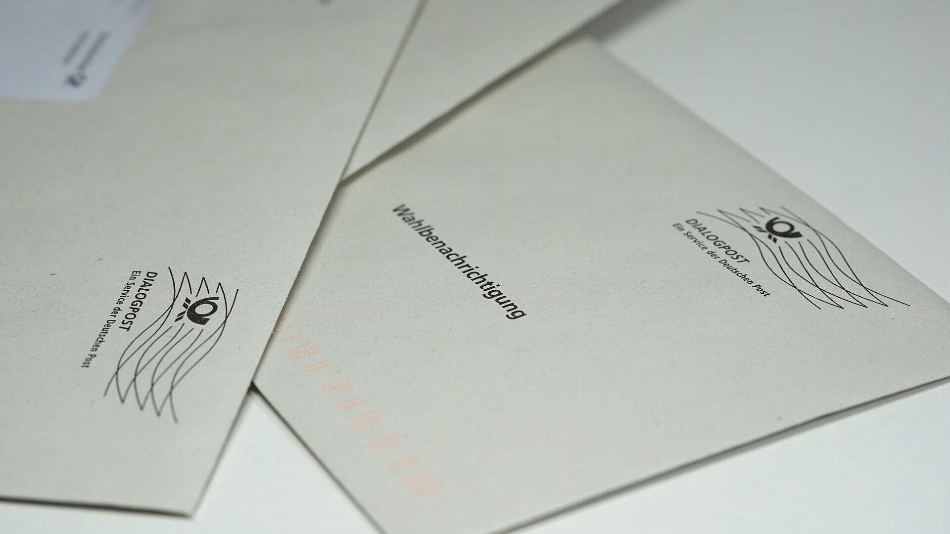 Briefwahl (Symboöbild) - SNA, 1920, 28.09.2021