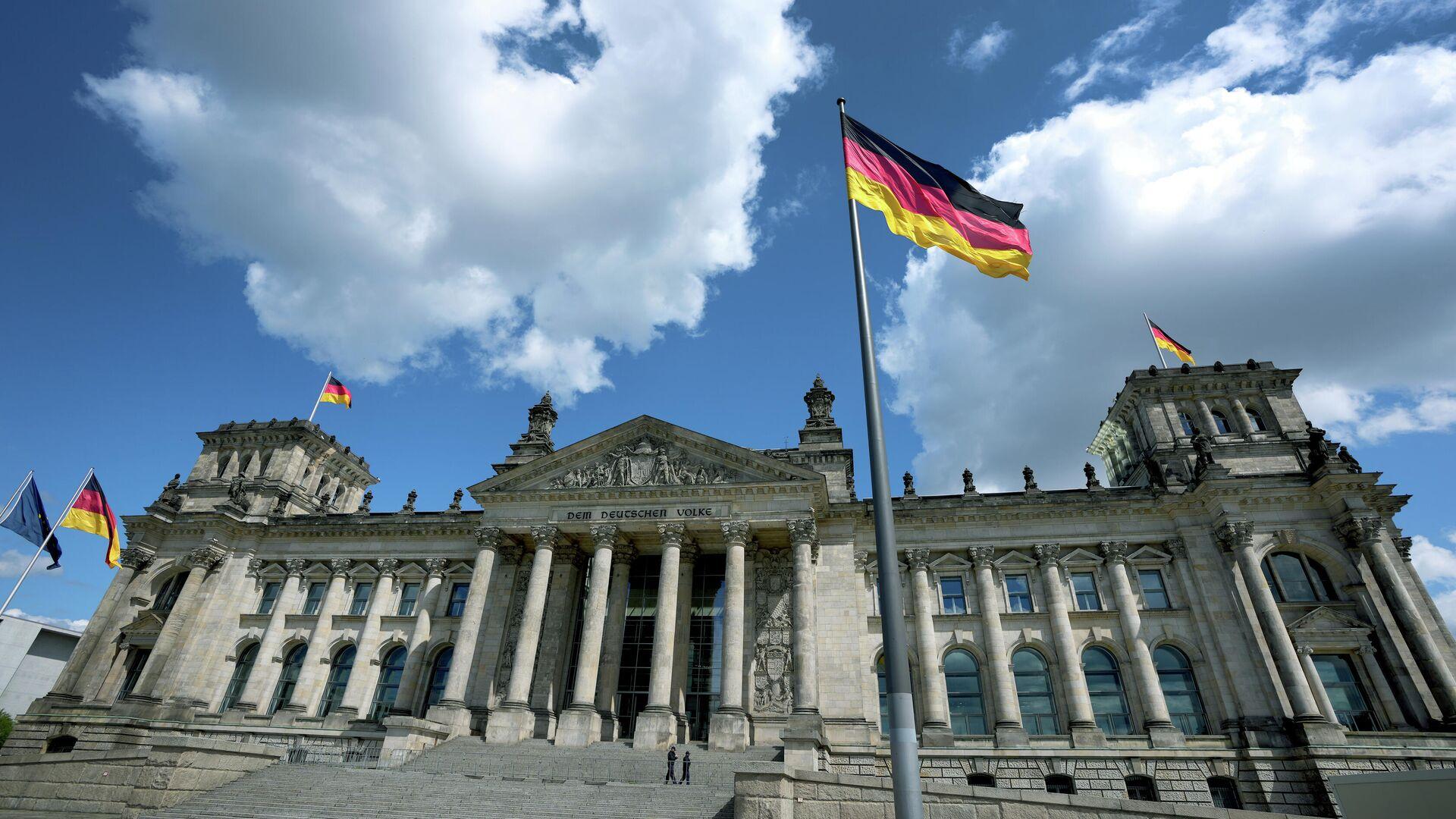 Bundestag in Berlin (Symbolbild) - SNA, 1920, 29.09.2021
