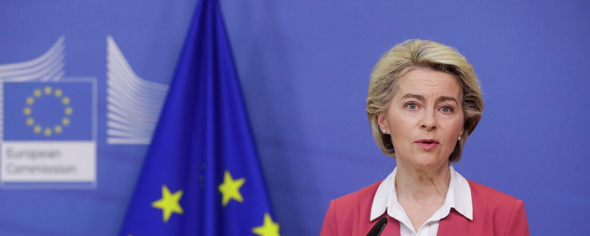 EU-Kommissionspräsidentin Ursula von der Leyen (Archivbild) - SNA, 1920, 31.08.2021