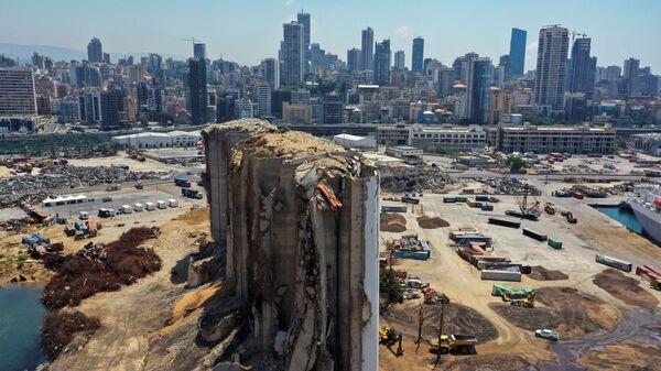 Место взрыва 2020 года в порту Бейрута - SNA