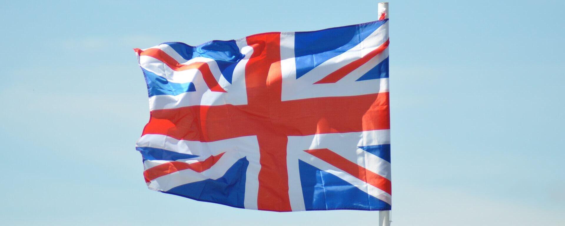 Britische Flagge (Symbolbild) - SNA, 1920, 13.09.2021