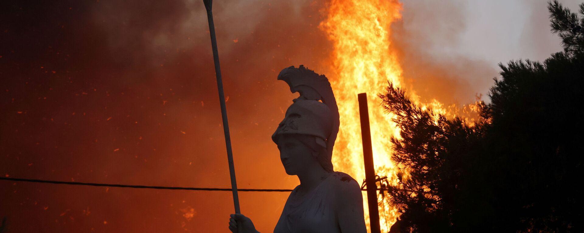 Waldbrände in Griechenland - SNA, 1920, 05.08.2021