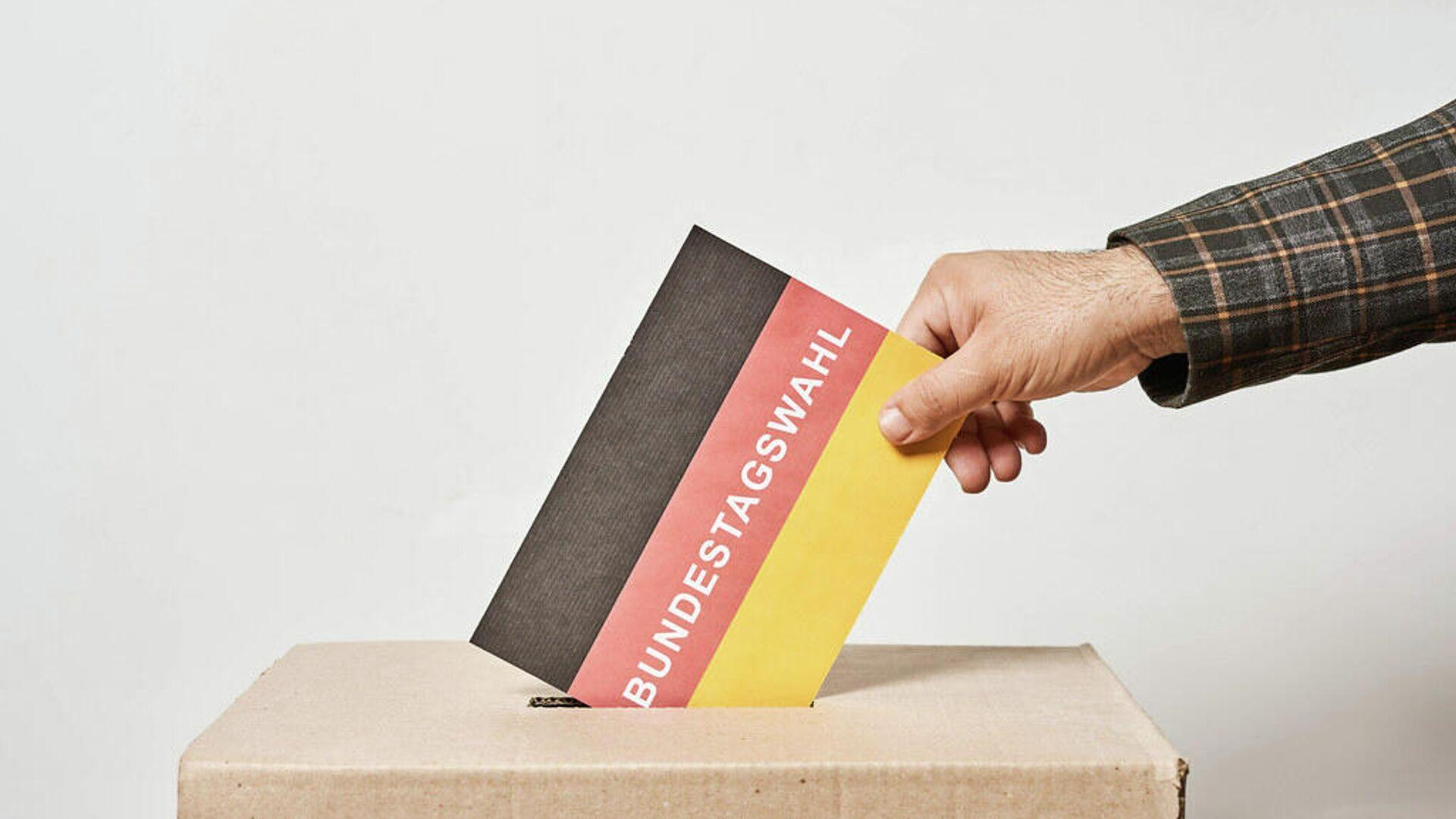Wahl zum 20. Deutschen Bundestag (Symbolbild) - SNA, 1920, 05.10.2021