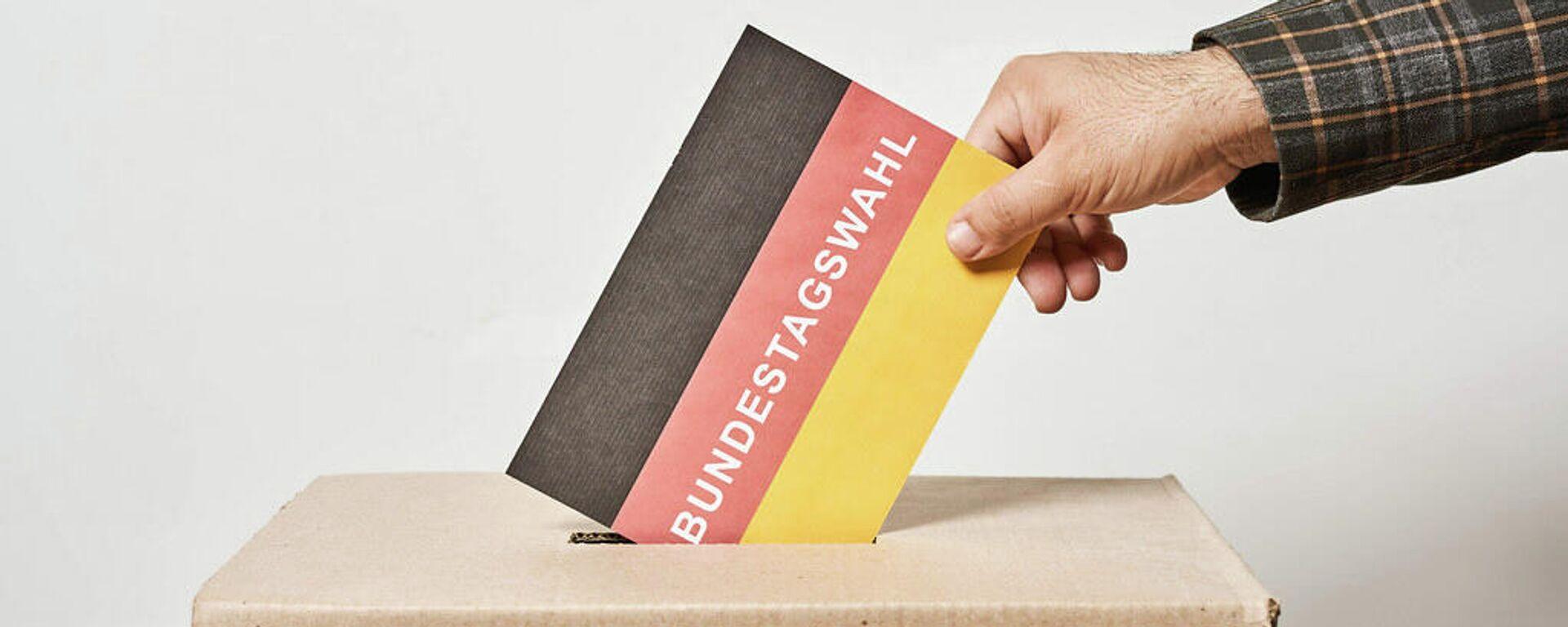 Wahl zum 20. Deutschen Bundestag (Symbolbild) - SNA, 1920, 26.09.2021