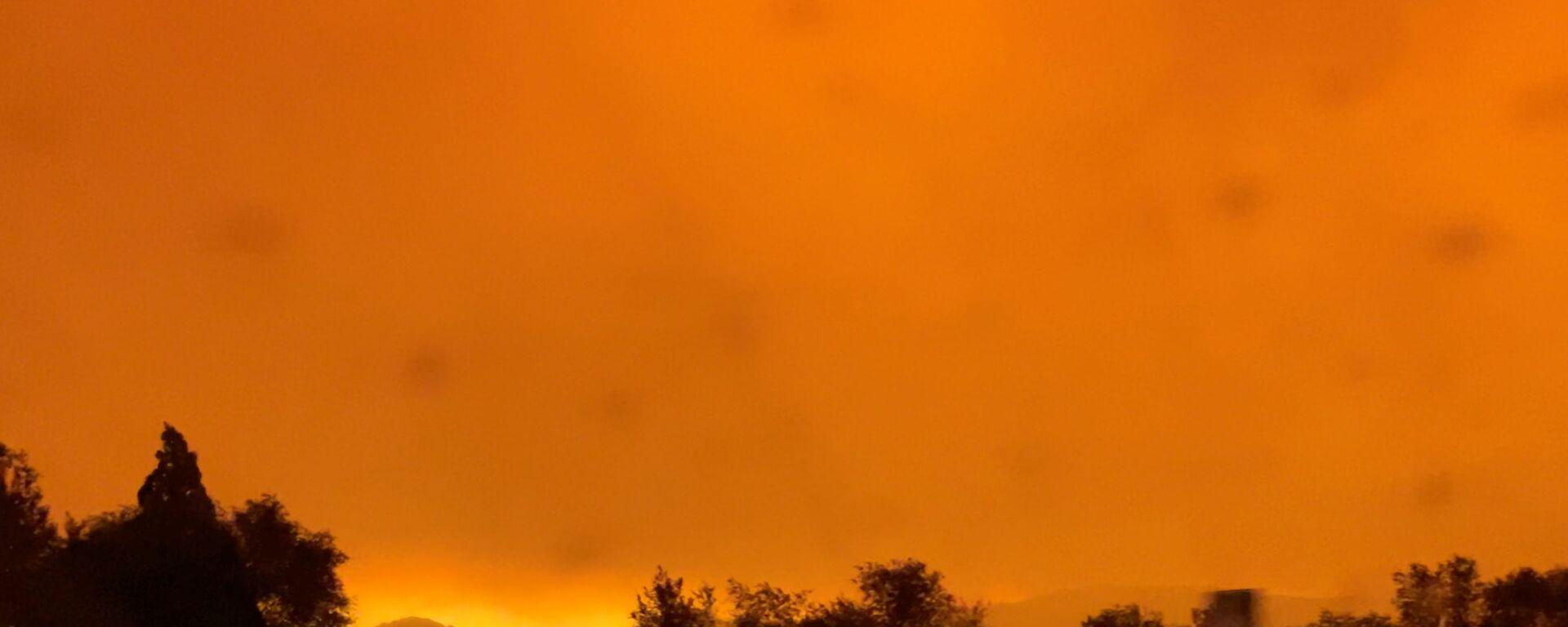 Waldbrand in Kalifornien - SNA, 1920, 28.08.2021