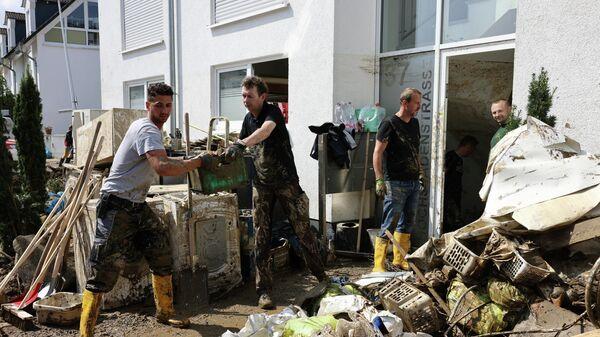 Folgen der Überschwemmung in Bad Neuenahr-Ahrweiler - SNA