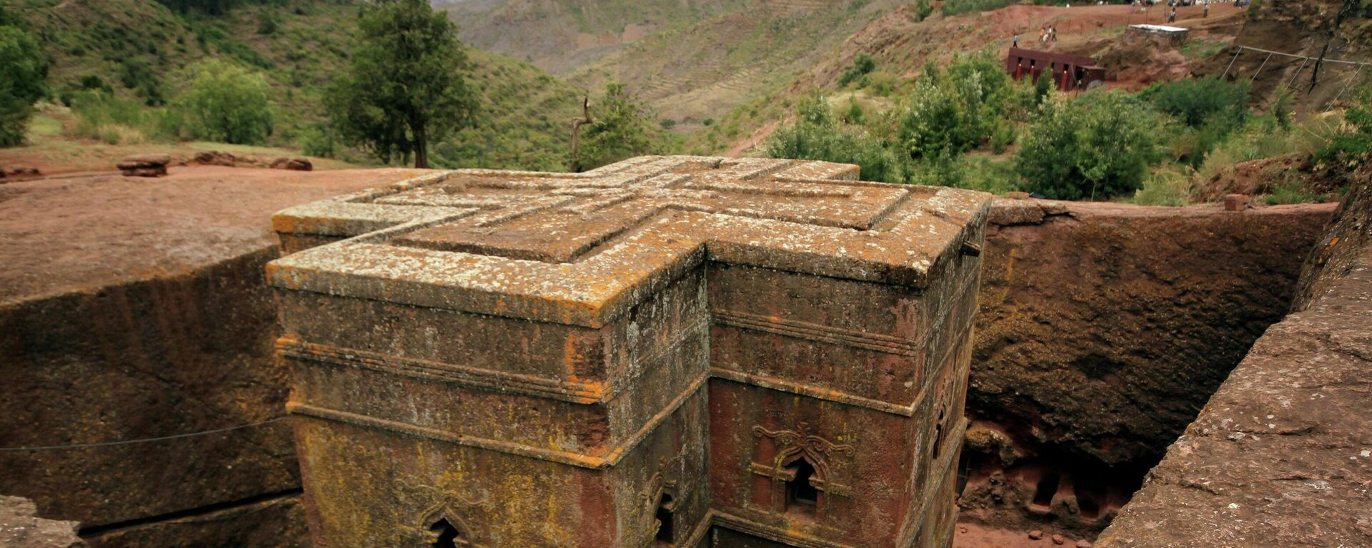 Unesco-Welterbestätte Lalibela in Äthiopien - SNA, 1920, 06.08.2021