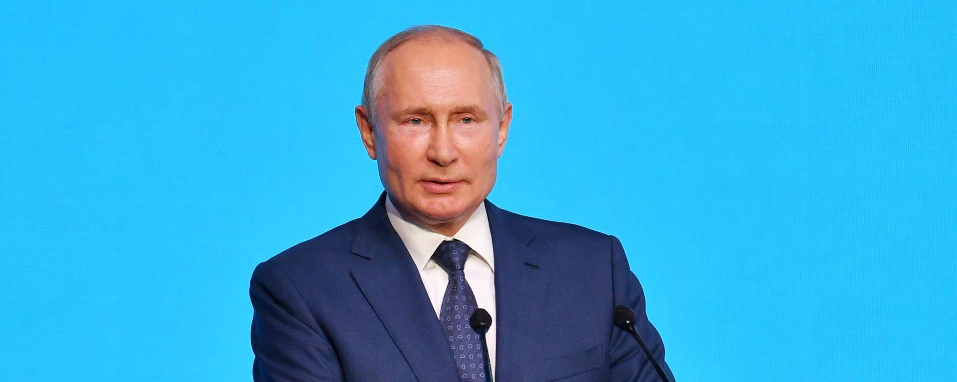 Russlands Präsident Wladimir Putin - SNA, 1920, 20.08.2021