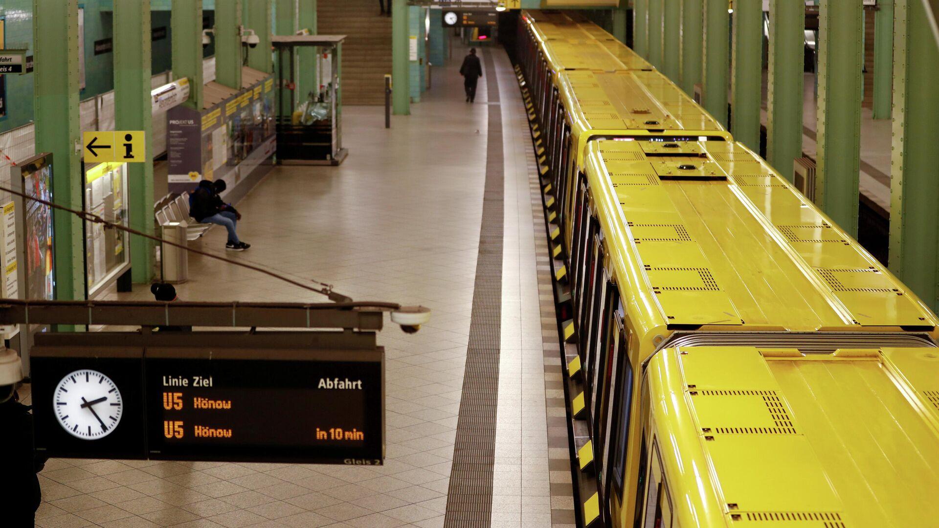 Berliner U-Bahn (Archivbild) - SNA, 1920, 07.08.2021
