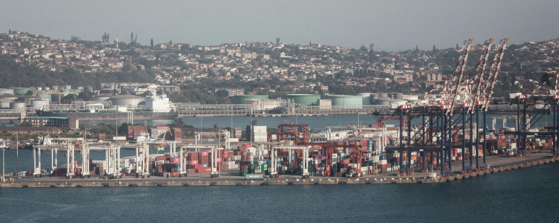 Der südafrikanische Hafen Durban - SNA, 1920, 08.08.2021
