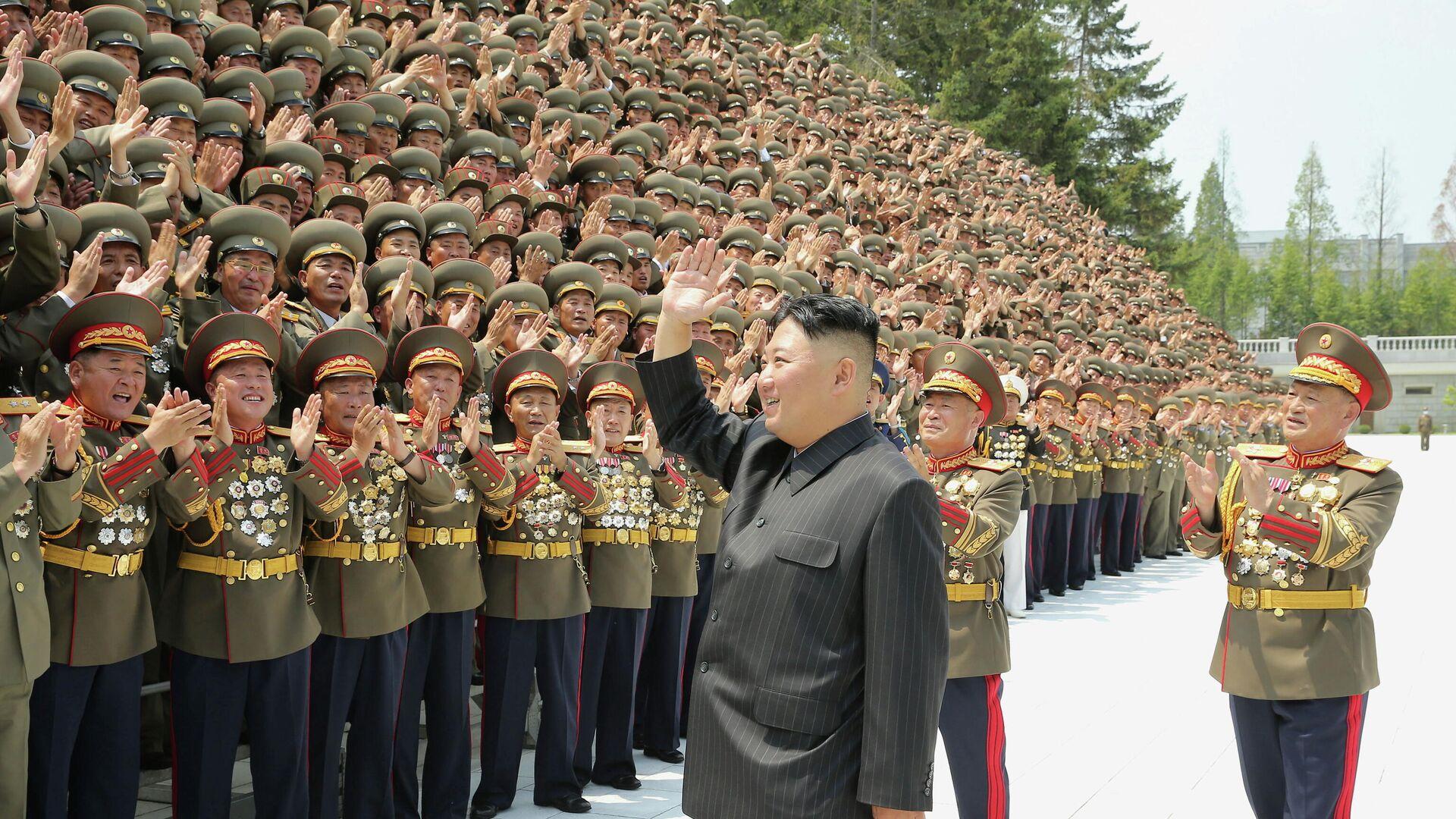 Nordkoreas Machthaber Kim Jong-un  - SNA, 1920, 08.08.2021