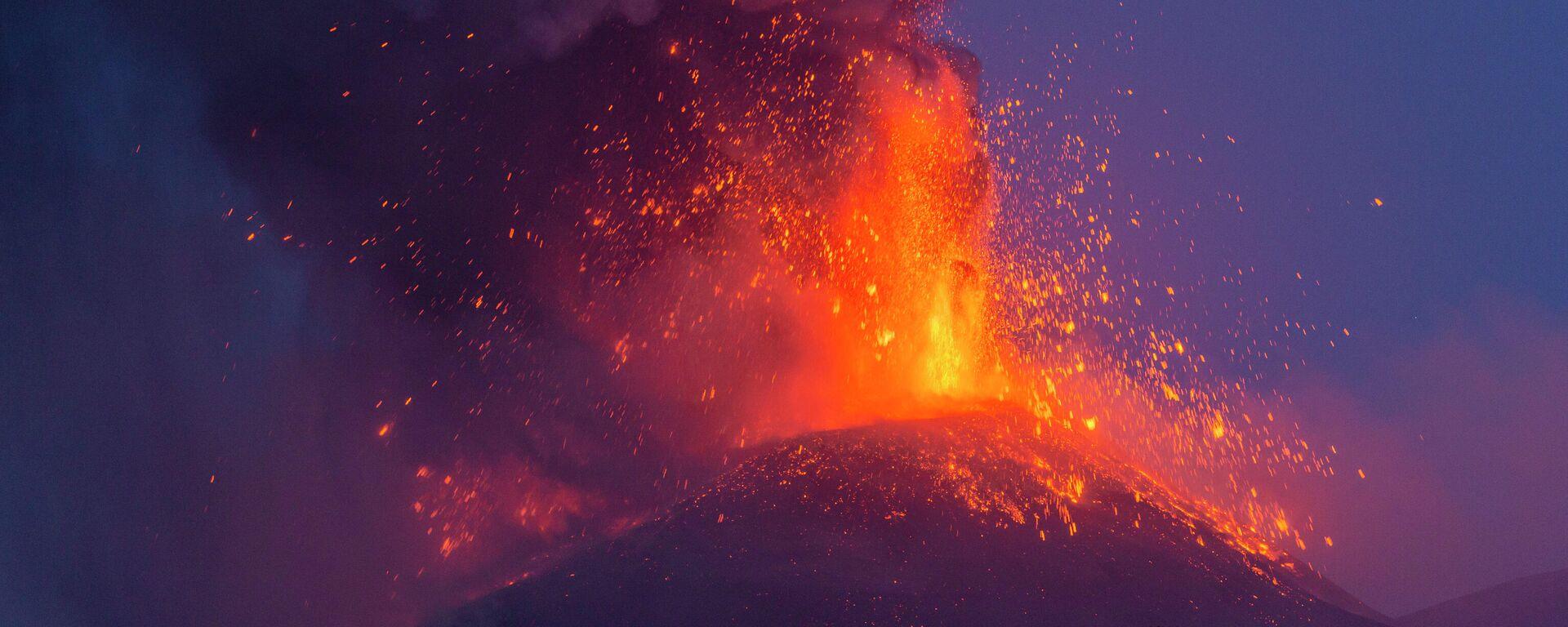 Vulkan Ätna (Italien) - SNA, 1920, 12.08.2021