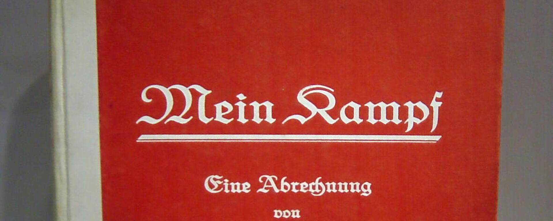 Deutsche Erstausgabe des ersten Bandes von Mein Kampf, Juli 1925 - SNA, 1920, 12.08.2021