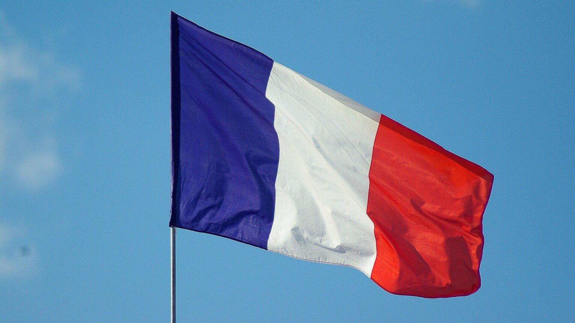 Frankreichs Flagge (Symbolbild) - SNA, 1920, 12.09.2021