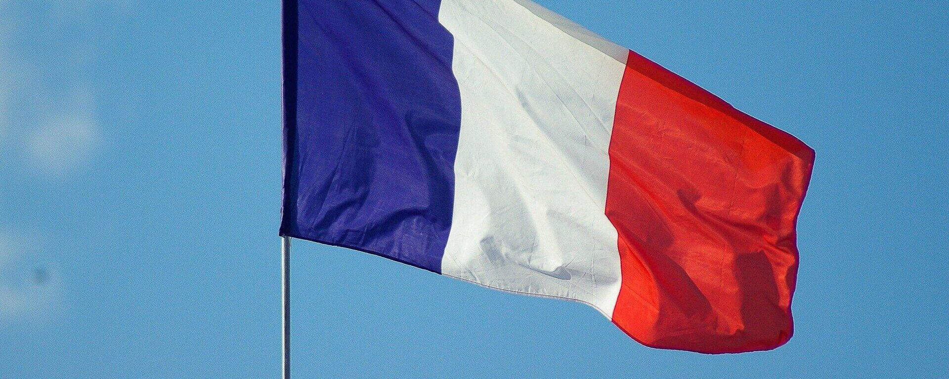 Frankreichs Flagge (Symbolbild) - SNA, 1920, 18.09.2021