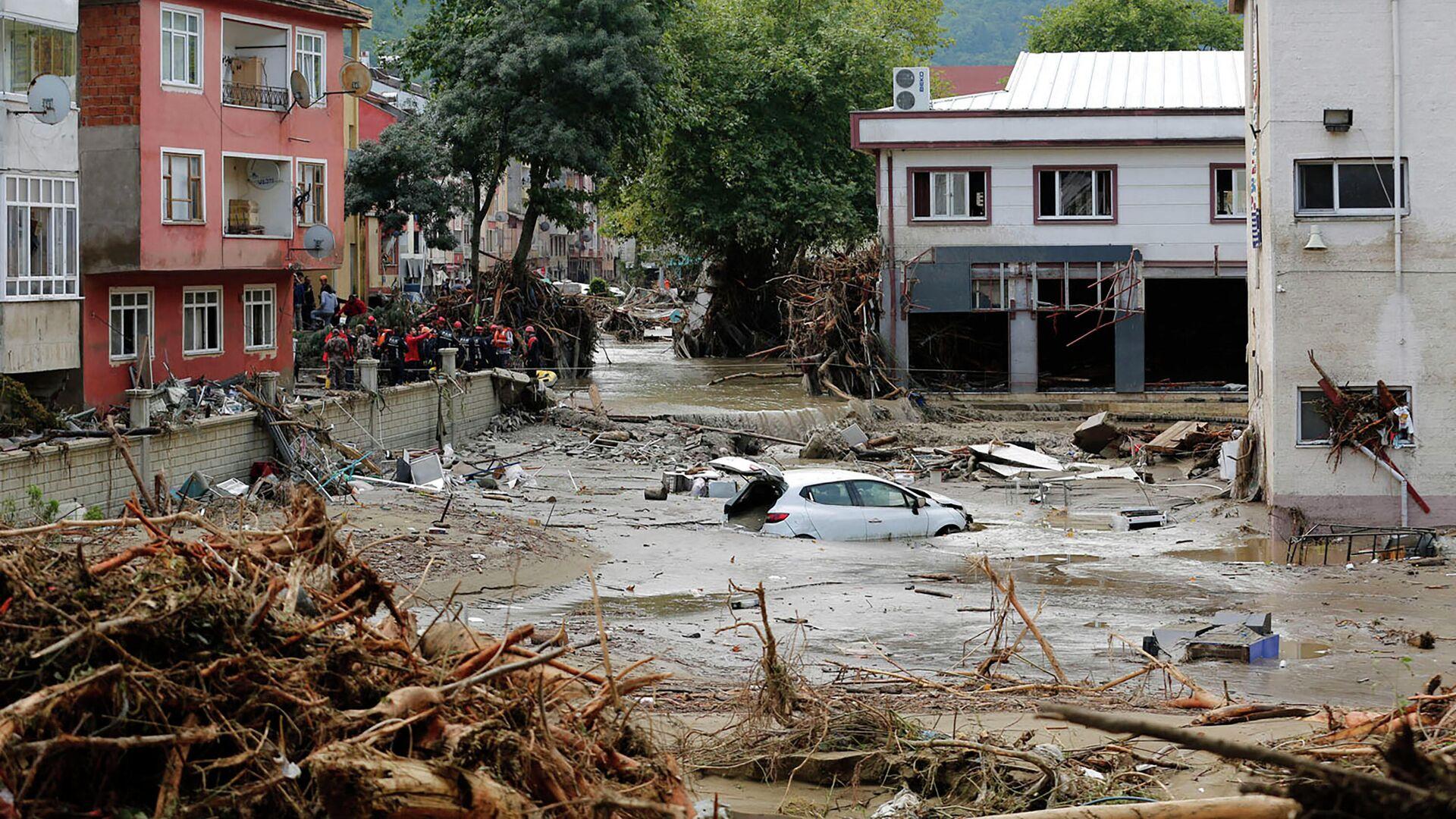 Überschwemmungen in der Türkei, Provinz Kastamonu - SNA, 1920, 13.08.2021