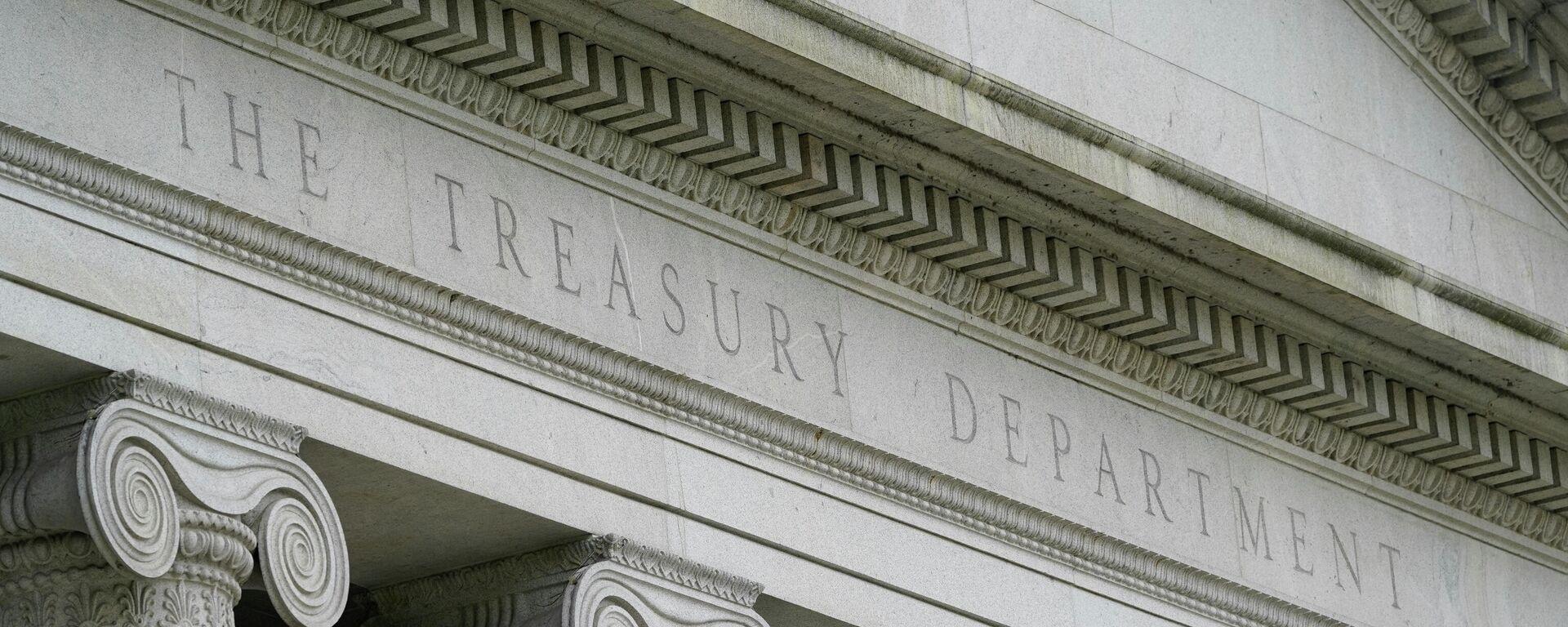 Das Gebäude des US-Finanzministeriums  - SNA, 1920, 13.08.2021