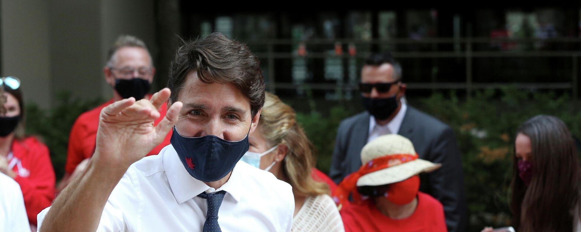 Kanadas Premier Justin Trudeau  - SNA, 1920, 16.08.2021