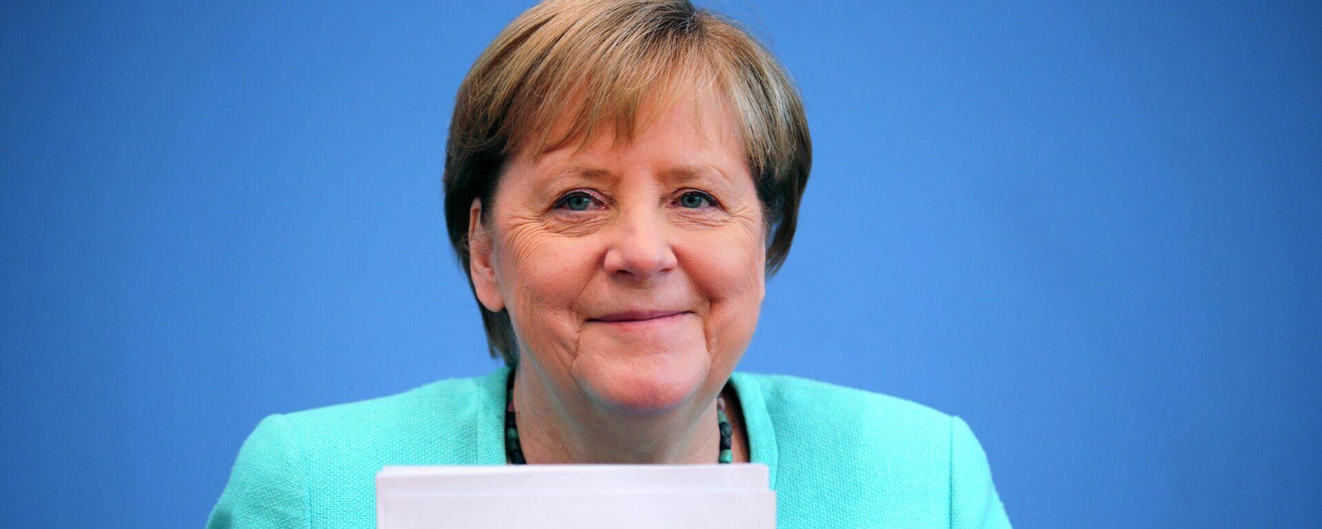 Bundeskanzlerin Angela Merkel (Archivbild) - SNA, 1920, 11.09.2021
