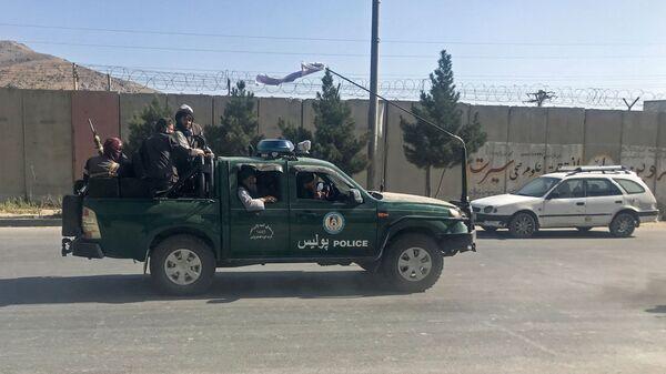 Боевики Талибан* на улицах Кабула  - SNA