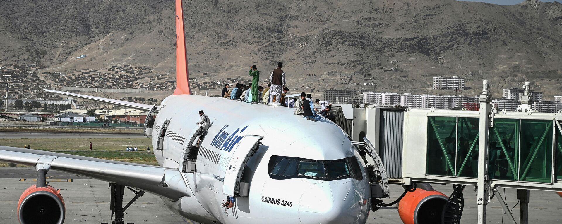 Flughafen Kabul  - SNA, 1920, 16.08.2021