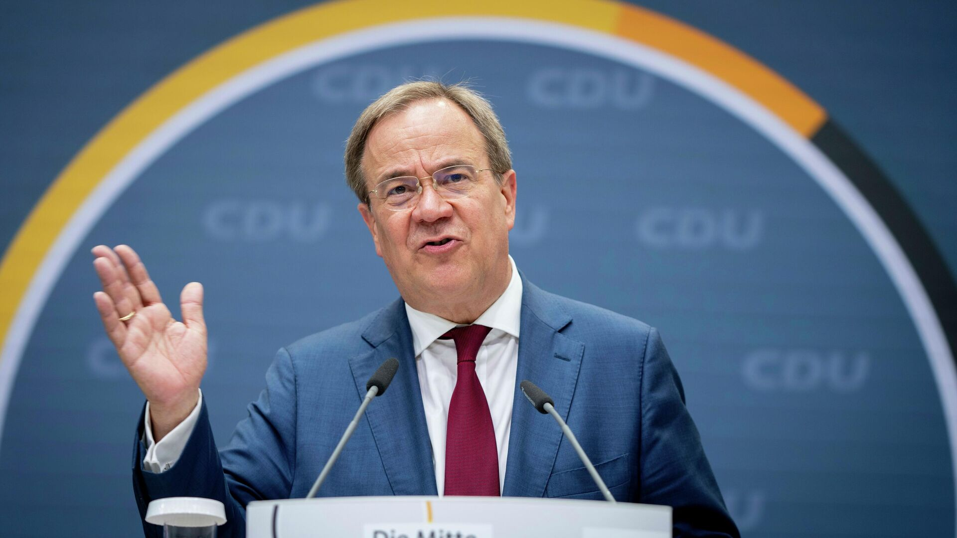 CDU-Chef Armin Laschet (Archivbild) - SNA, 1920, 17.08.2021