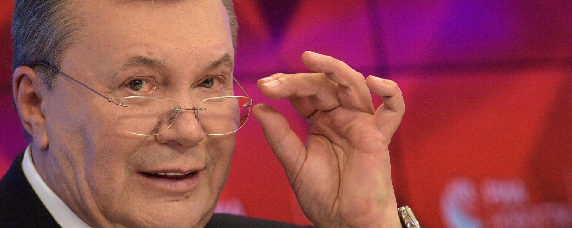 Ehemaliger ukrainischer Präsident Viktor Yanukowitsch - SNA, 1920, 17.08.2021