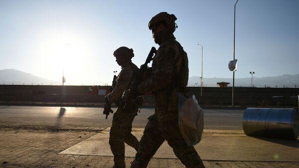 Американские солдаты в Кабуле - SNA