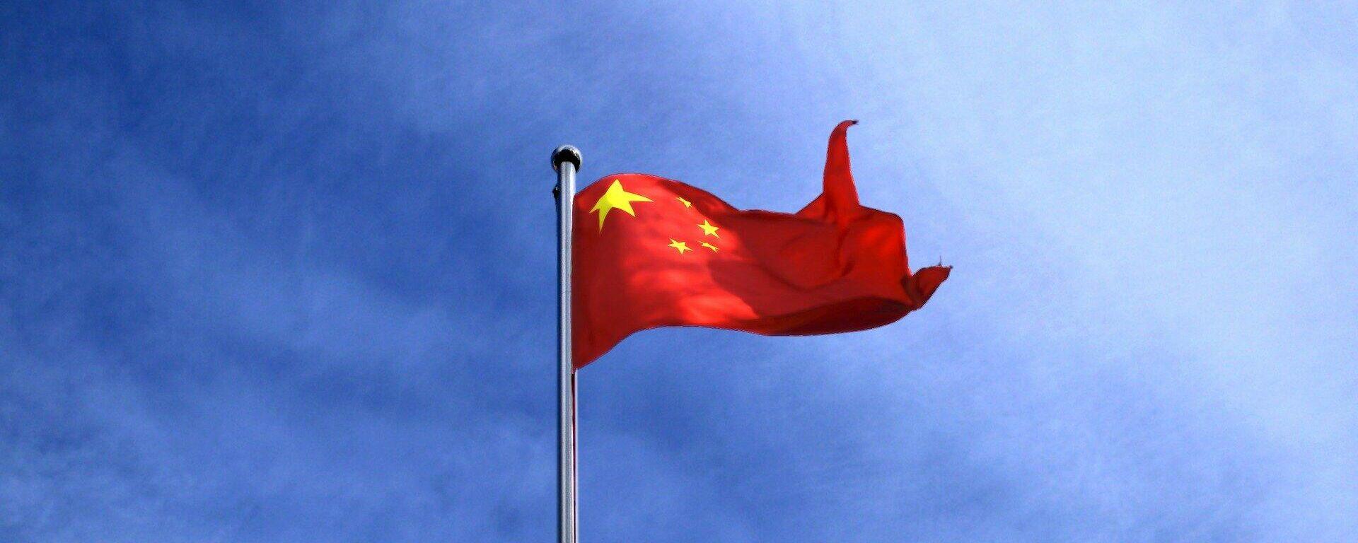 Chinas Flagge (Symbolbild) - SNA, 1920, 30.09.2021