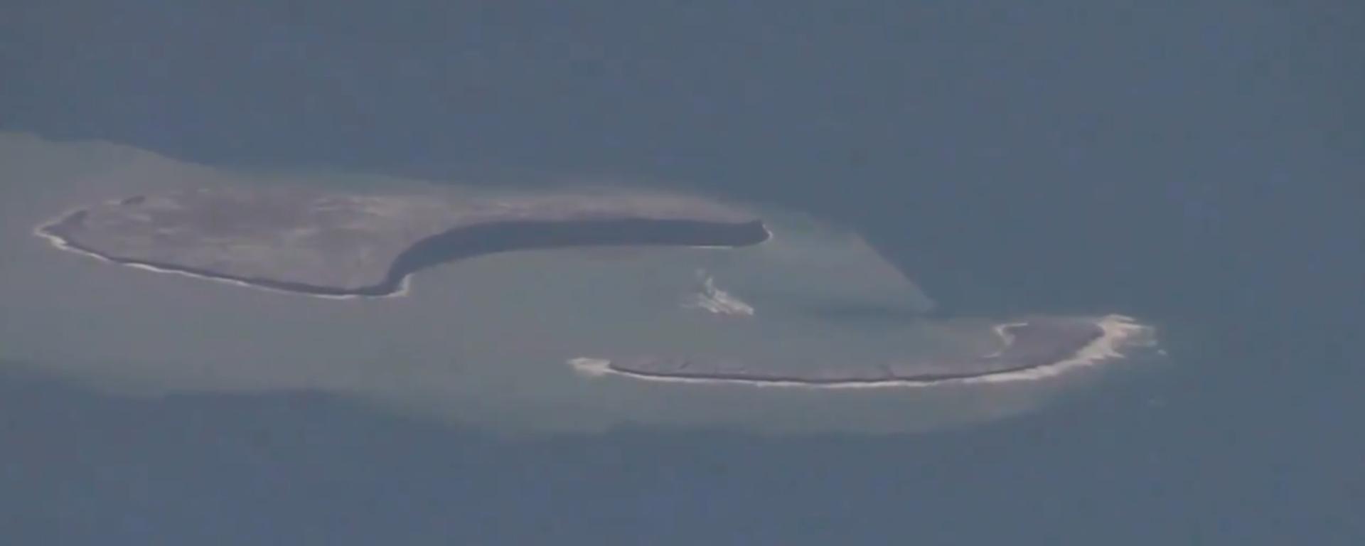 Neue Insel taucht vor Japan auf - SNA, 1920, 19.08.2021