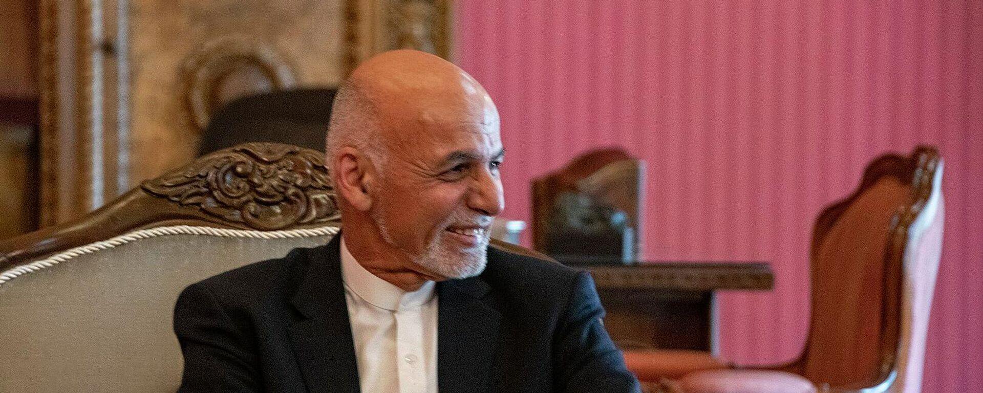 Afghanistans Präsident Ashraf Ghani - SNA, 1920, 03.10.2021