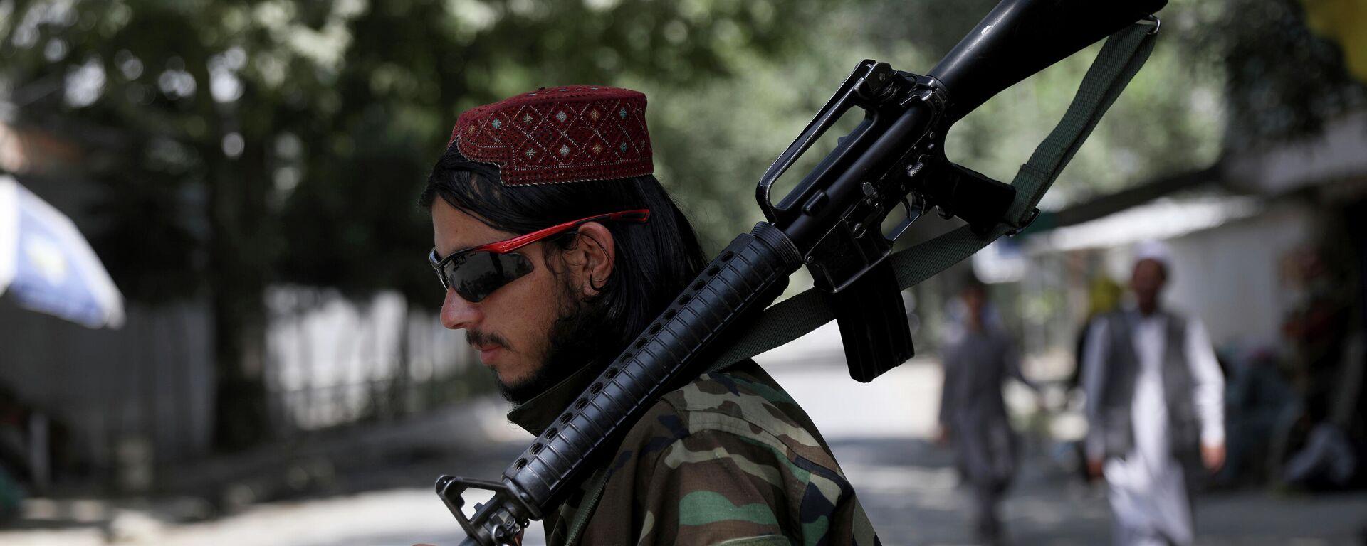 Ein Taliban-Kämpfer - SNA, 1920, 25.08.2021