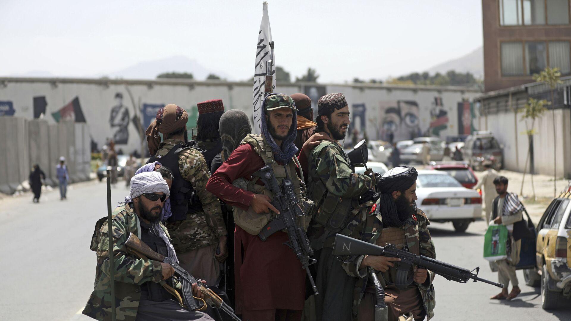 Taliban-Kämpfer in Kabul, Afghanistan - SNA, 1920, 03.10.2021